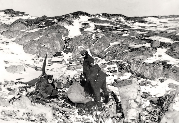 Место падения самолета Кочеткова В.Е. (80-е годы)